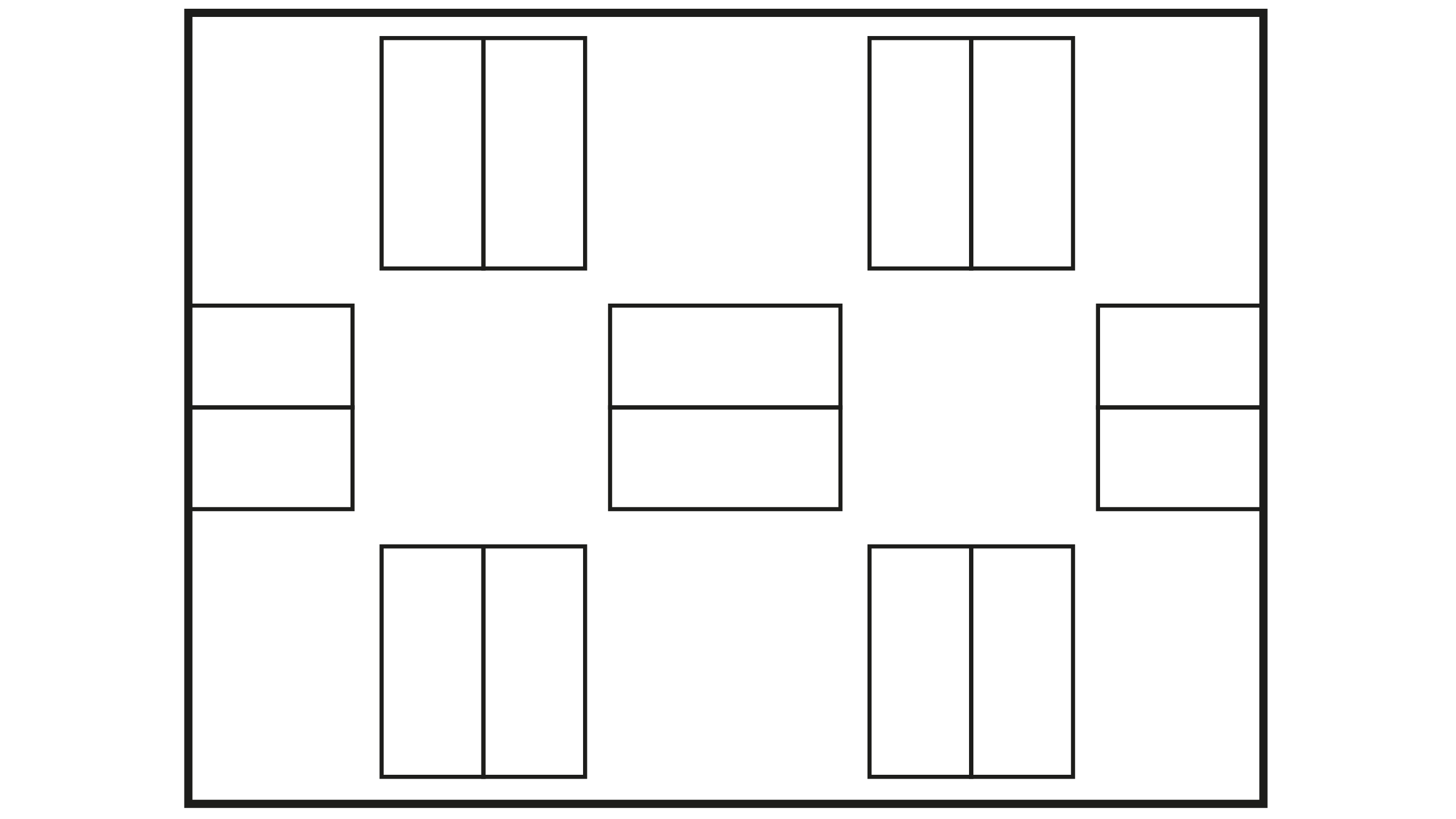 In the form of quadrants with blocks of houses around small squares connected to each other.